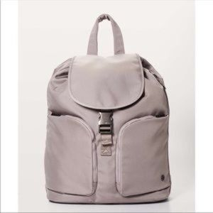 lululemon pink Carry Onward backpack